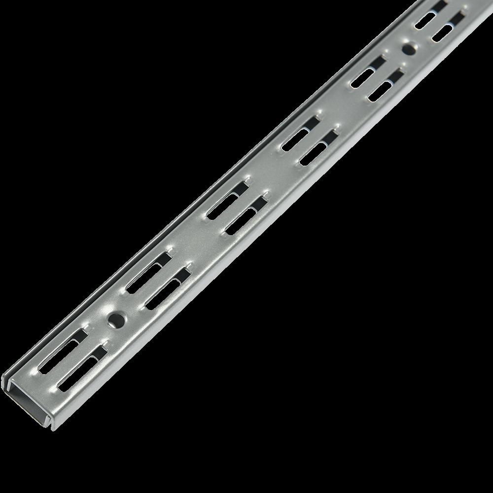 Vergea verticala, gri, H: 1500 mm imagine MatHaus.ro
