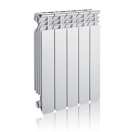 Calorifer aluminiu Innovita 500 SET, 577 x 80 mm, alb