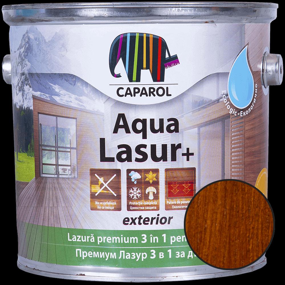 Lazura pentru lemn de exterior Caparol Aqua Lasur +, tec, 2,5 l mathaus 2021