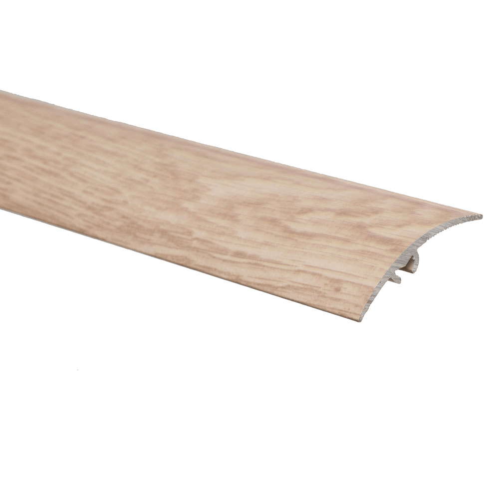 Profil de trecere cu diferenta de nivel S65, cu surub mascat, pin, 2.7 m imagine MatHaus