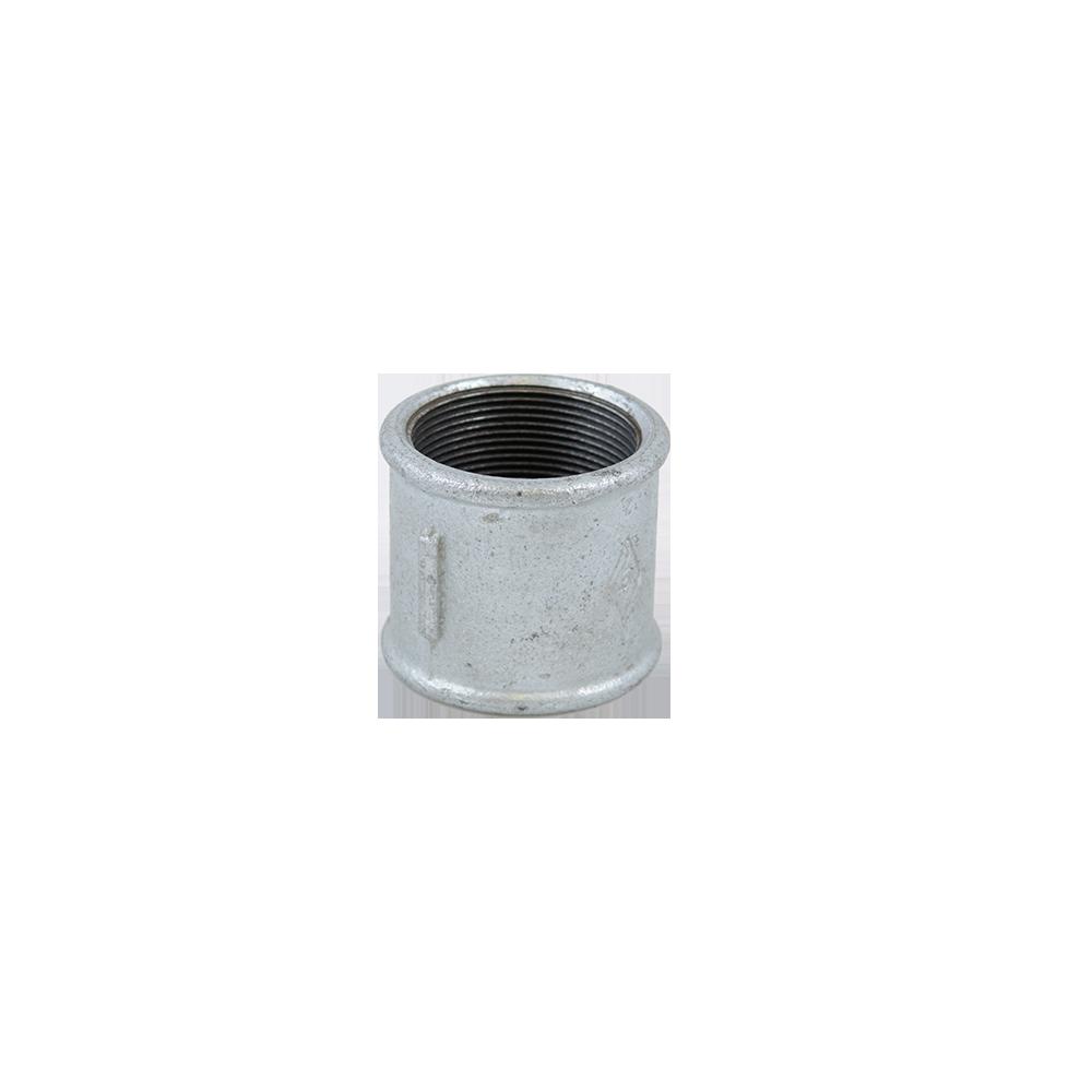 Mufa zincata, FI x FI, 2 inch