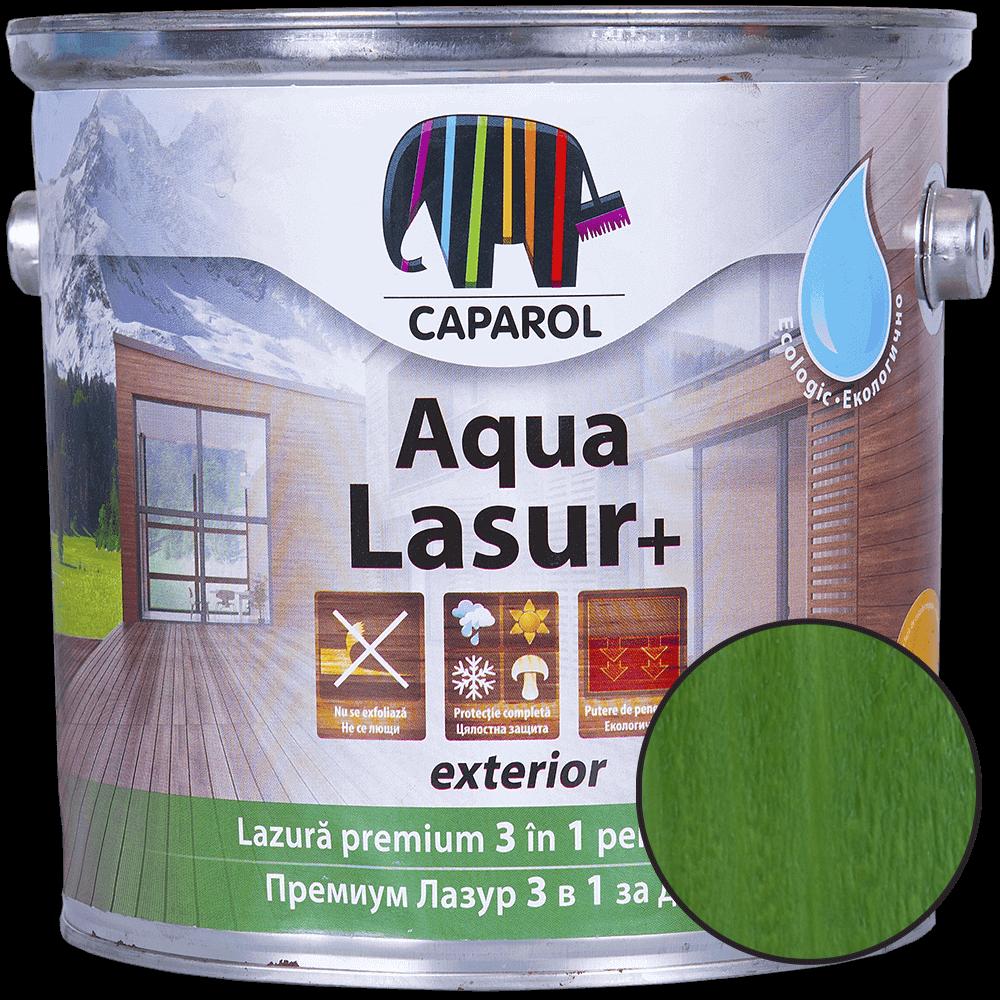 Lazura pentru lemn de exterior Caparol Aqua Lasur +, verde, 2,5 l imagine 2021 mathaus