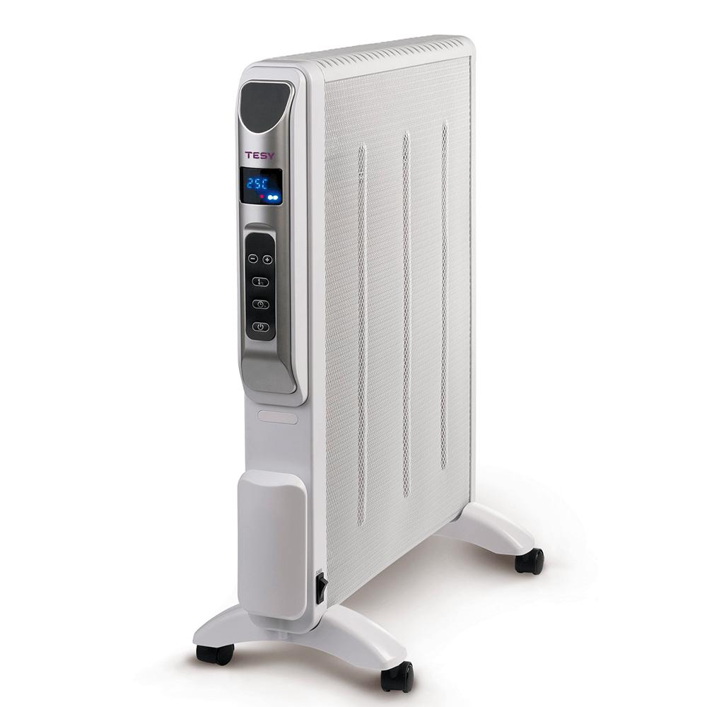 Panou radiant de pardoseala Tesy MC 2014, 2000 W, 54 x 28 x 68 cm, 2 trepte de putere, Display LCD, telecomanda imagine MatHaus.ro