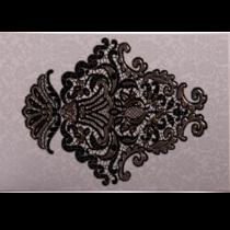 Decor interior negru Organza 5, 27.5 x 40 cm