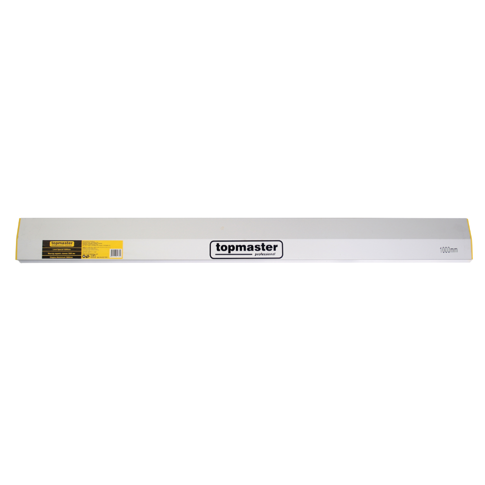 Dreptar aluminiu pentru constructii, Topmaster, 2 m