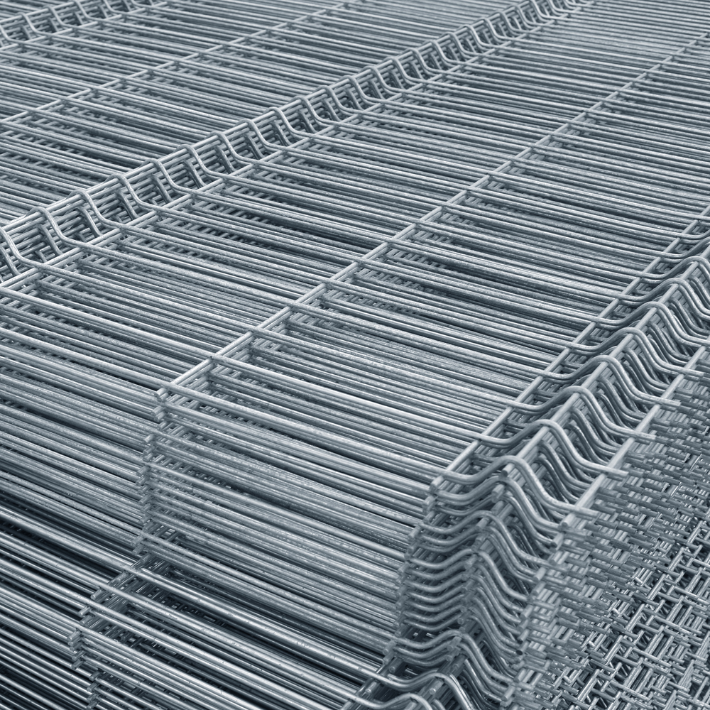 Panou gard bordurat zincat Eco, 1700 x 2500 mm mathaus 2021