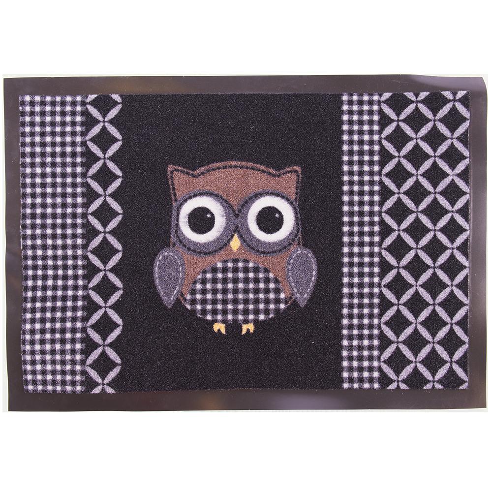 Stergator Owl 50 negru 60 x 80 cm mathaus 2021