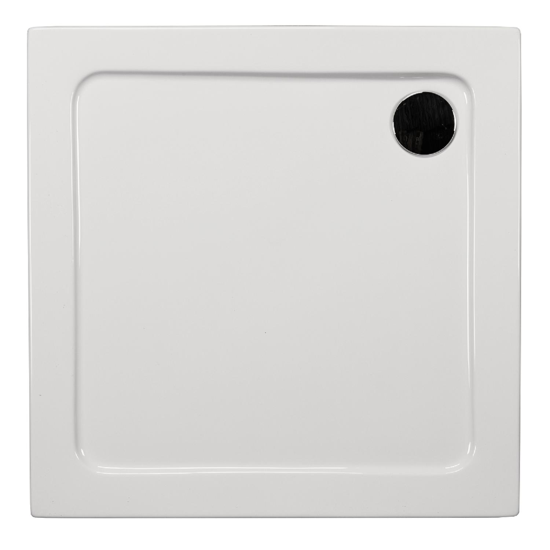 Cadita de dus Sanotechnik G90 Venus, acril, alb, patrata, 90 x 90 x 5.5 cm imagine 2021 mathaus