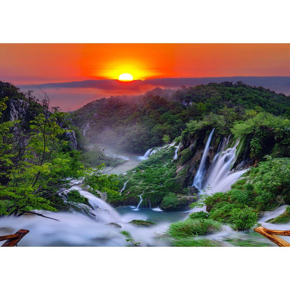Fototapet duplex Waterfal 13055P4, 254 x 184 cm