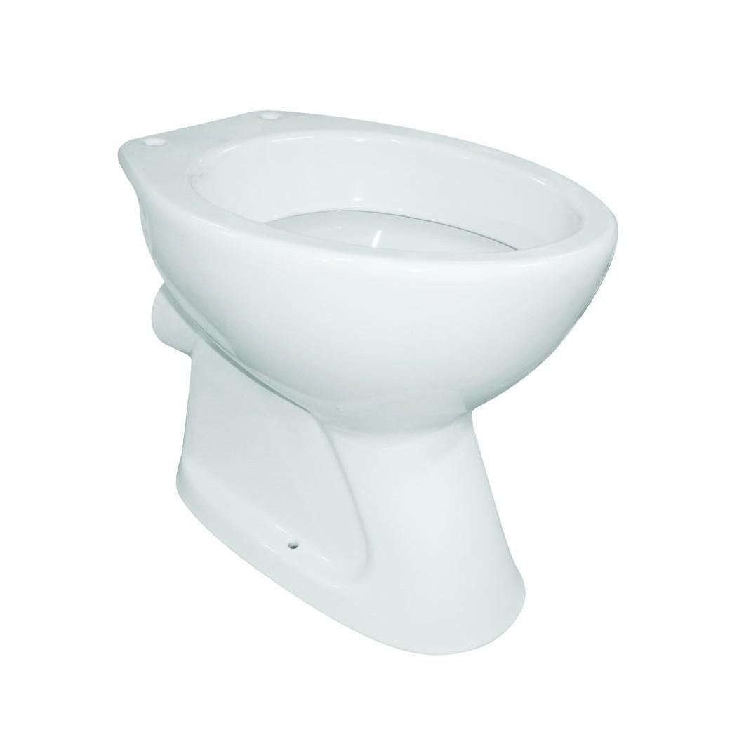 Vas WC Roca portelan, evacuare laterala, alb imagine MatHaus.ro