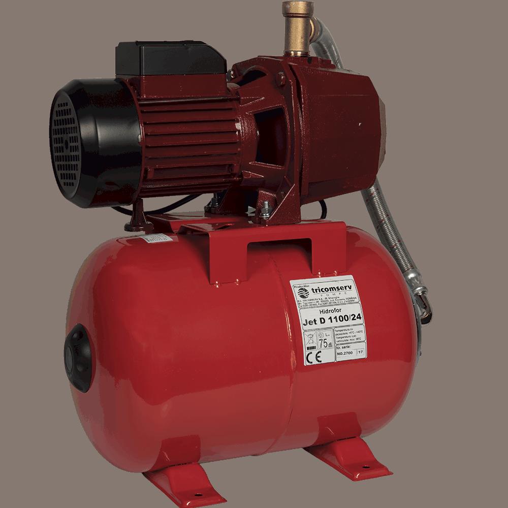 Hidrofor Economy JETD 110/24, 1100 W, 24 m, 24 l, 3 mc/h