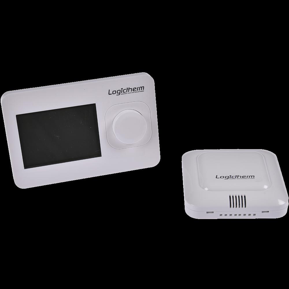 Termostat de ambient pentru centrala, wireless, Logictherm R3RF, programabil, digital, 230 V mathaus 2021