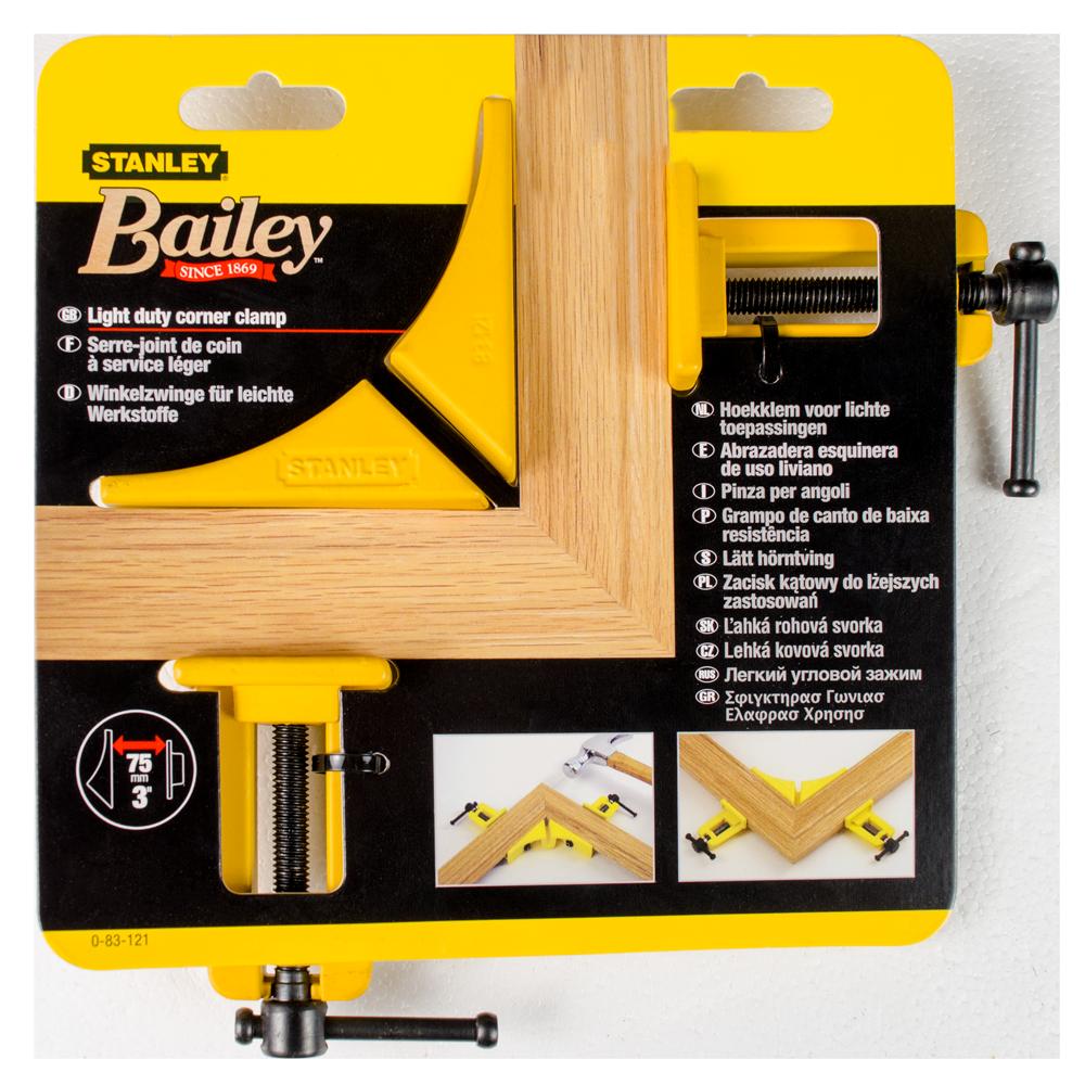 Menghina usoara Bailey pentru colturi Stanley, 75 mm