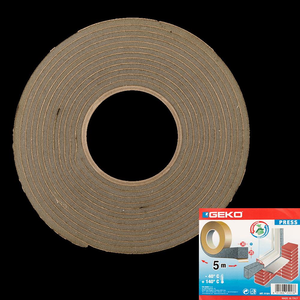 Garnitura adeviza Geko Press, spuma expandata, 30 x 20 mm x 5 m imagine 2021 mathaus