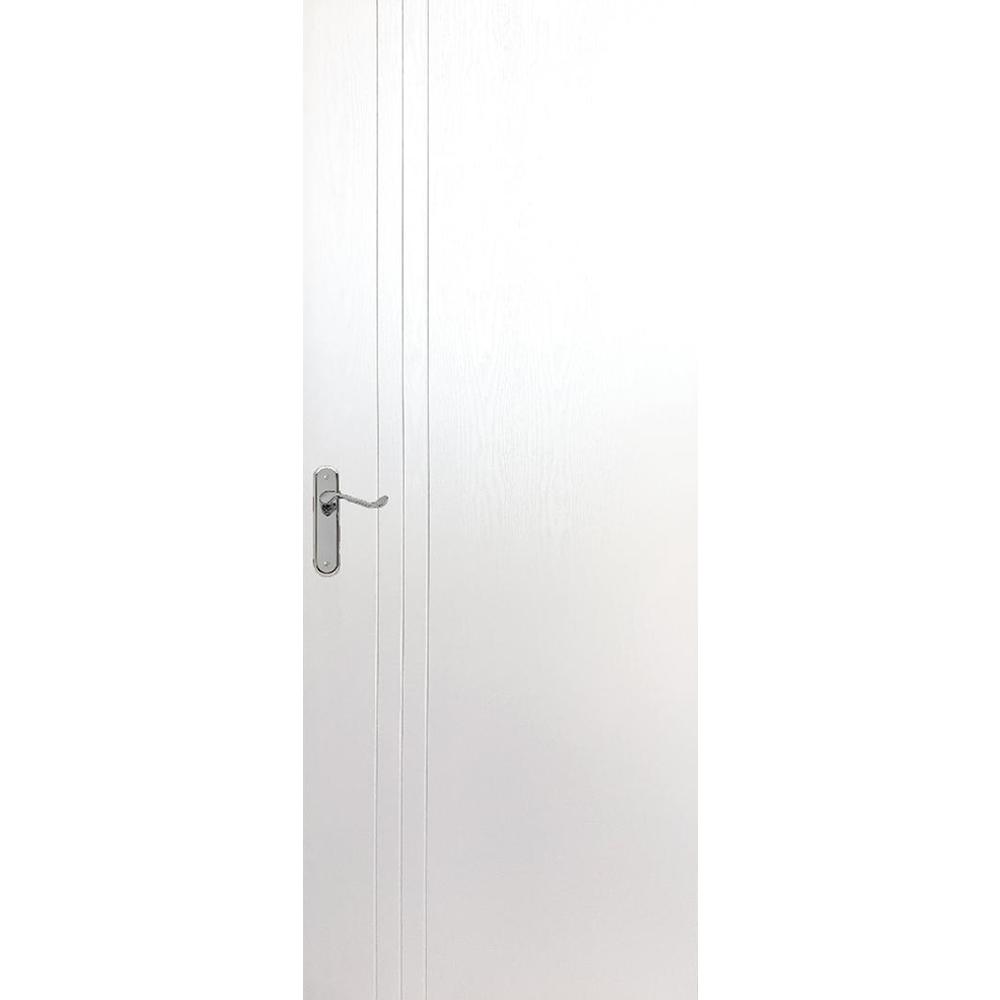 Usa plina interior, Pamate M050, alb, 203 x 80 x 3,5 cm + toc 10 cm, reversibila