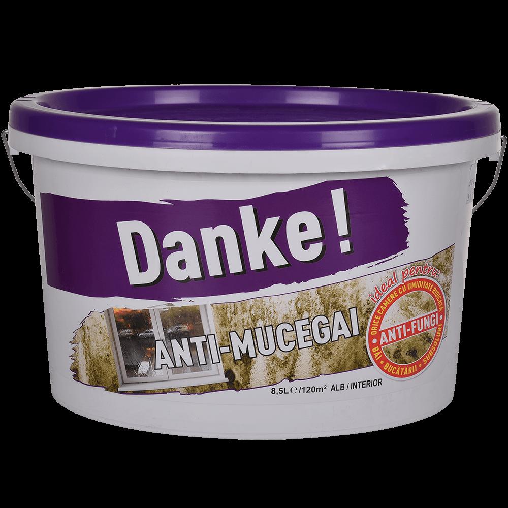 Vopsea anti mucegai, Danke, interior, 8,5 L