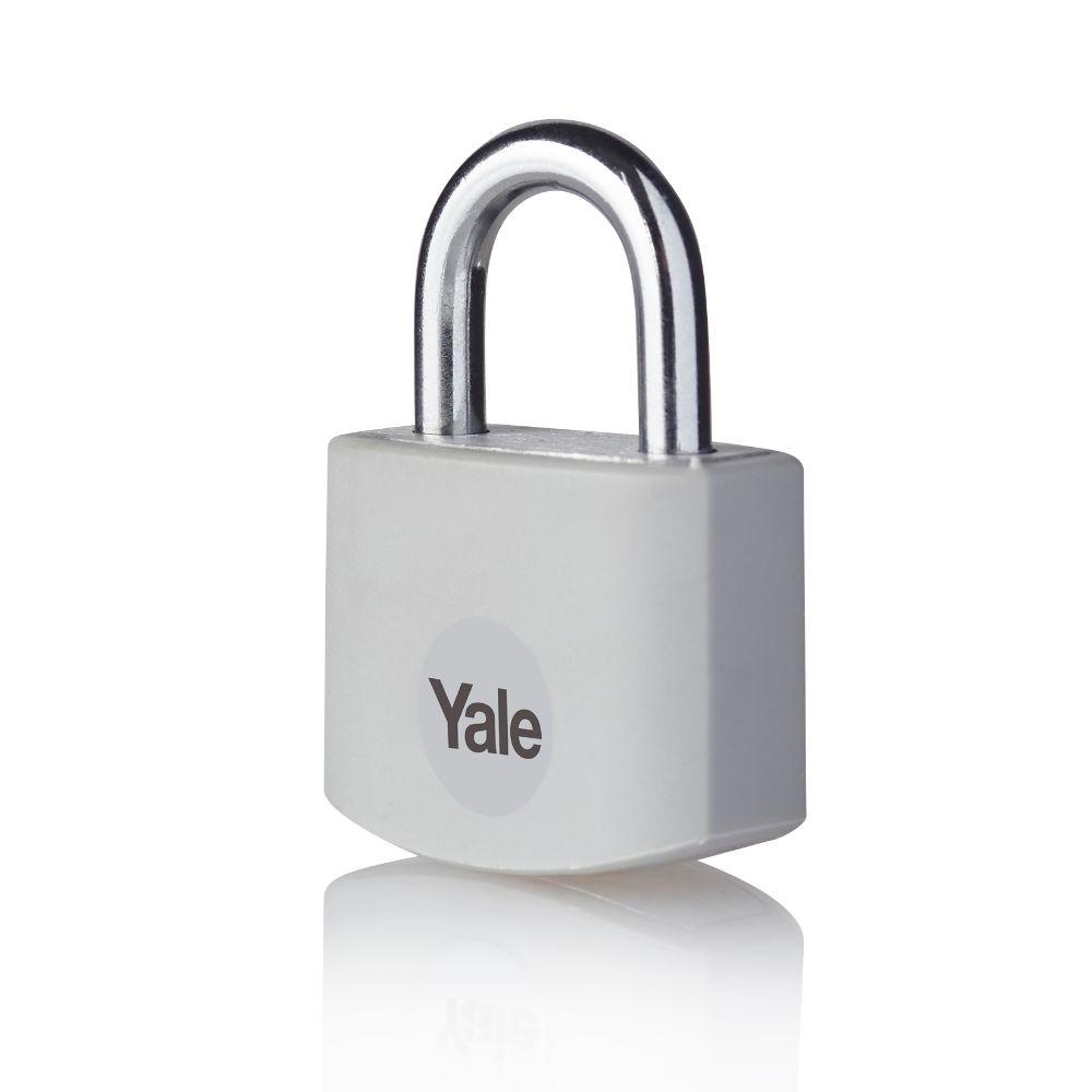 Lacat din aluminiu, Yale Standard Protection, l 25mm, 3 chei