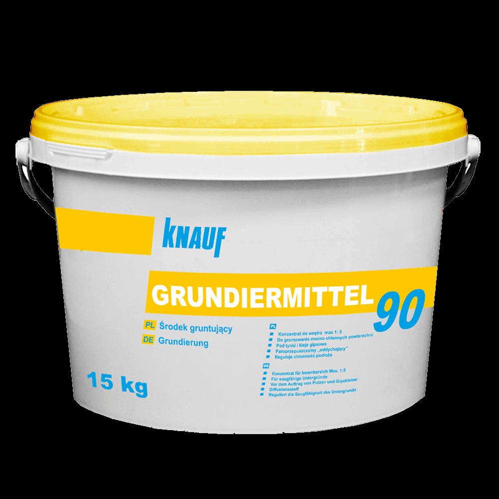 Amorsa suprafete absorbante Knauf Grundiermittel 90, 15 kg
