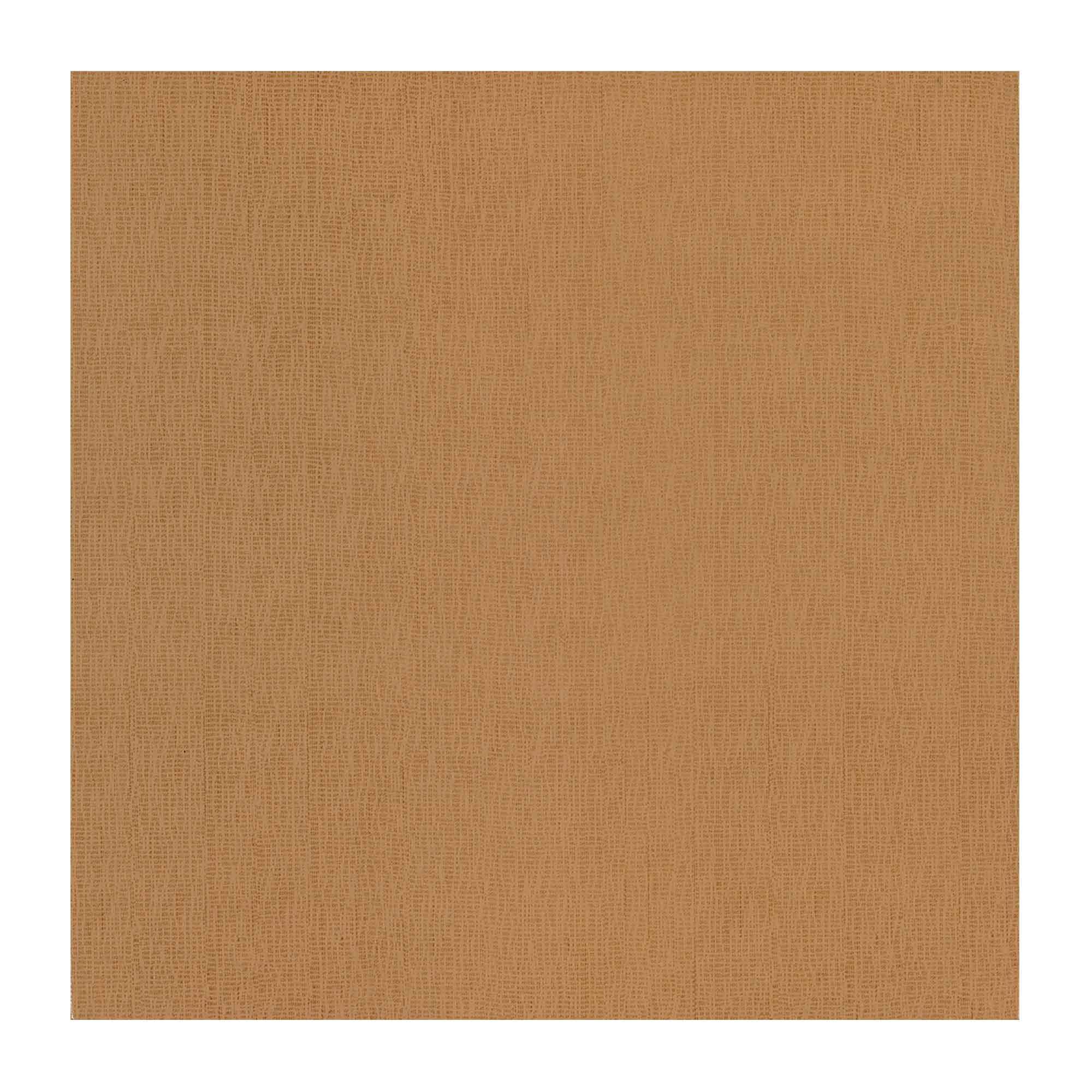 Gresie portelanata Cesarom Fabric PEI 3, caramel mat, patrata, design textil, 33 x 33 cm