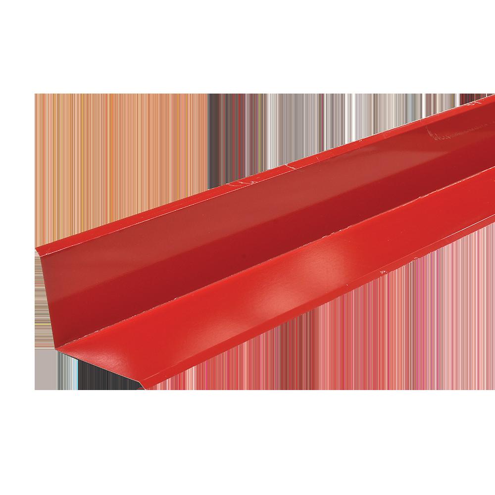 Profil inchidere perete, mare, Durako, rosu RAL 3011, lucios L= 2 m imagine 2021 mathaus