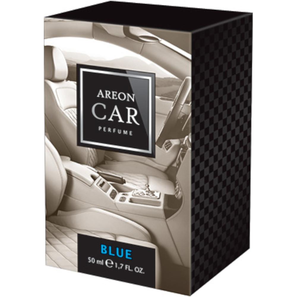 Odorizant auto, Areon Perfume new design, Blue, 50 ml imagine MatHaus.ro