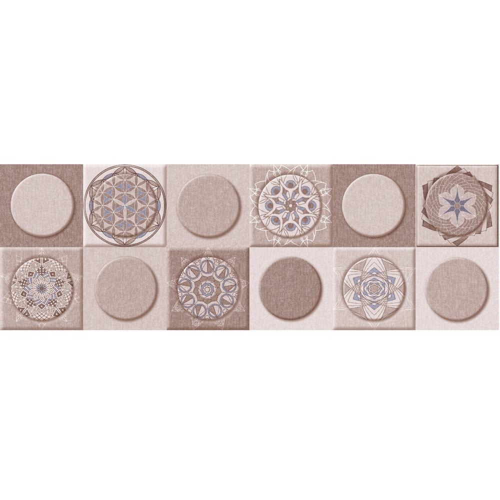 Faianta pentru interior, bej, MAVI, model geometric, G2 21 x 63 cm
