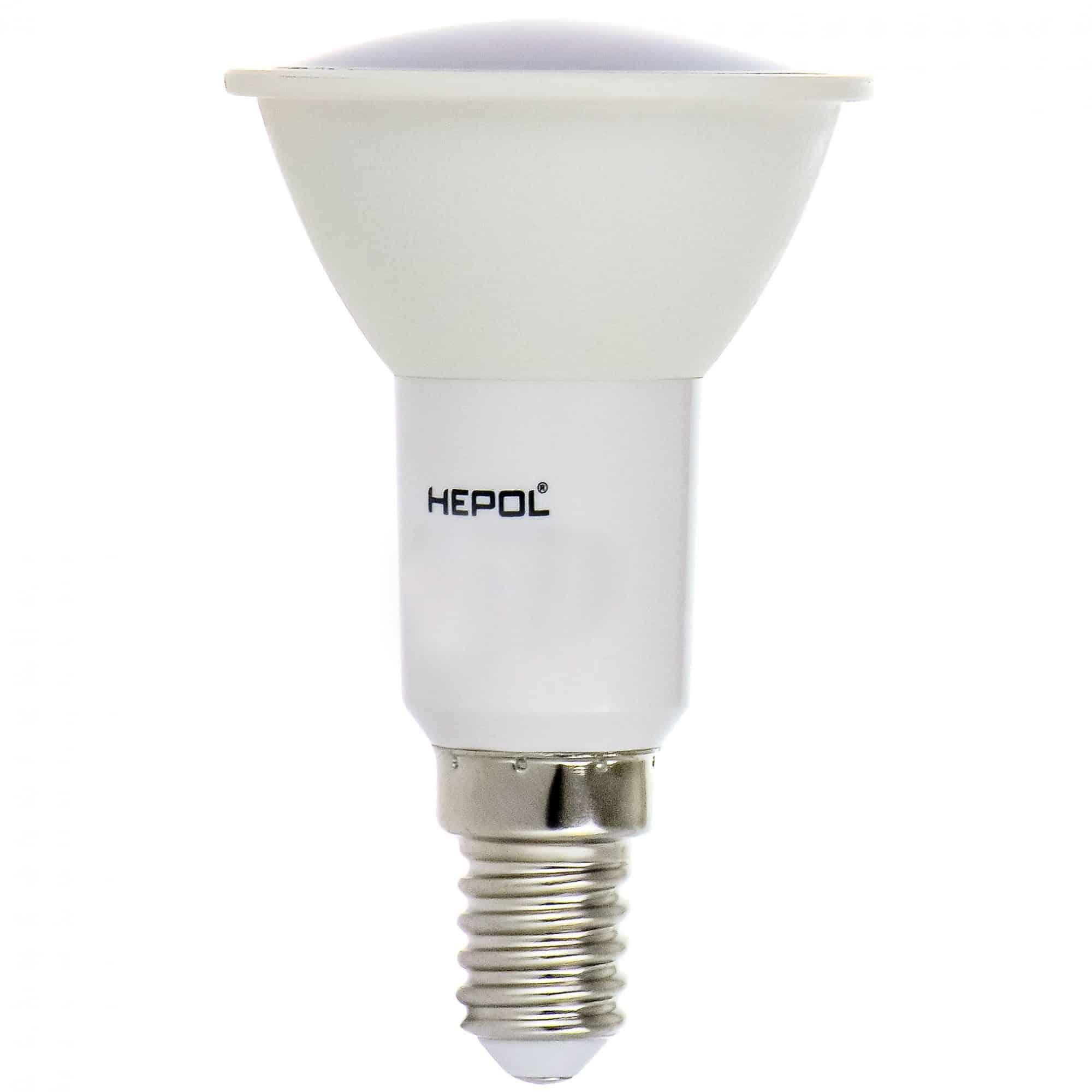 Bec LED Hepol R50, 6,5W, 500 lm, lumina calda mathaus 2021