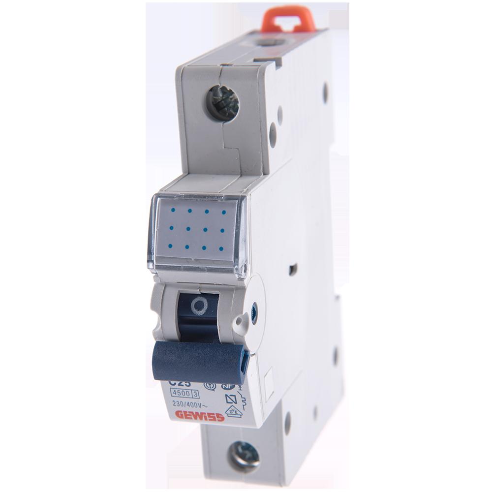 Disjunctor MCB 1P 4.5KA C25 GW92110 imagine 2021 mathaus