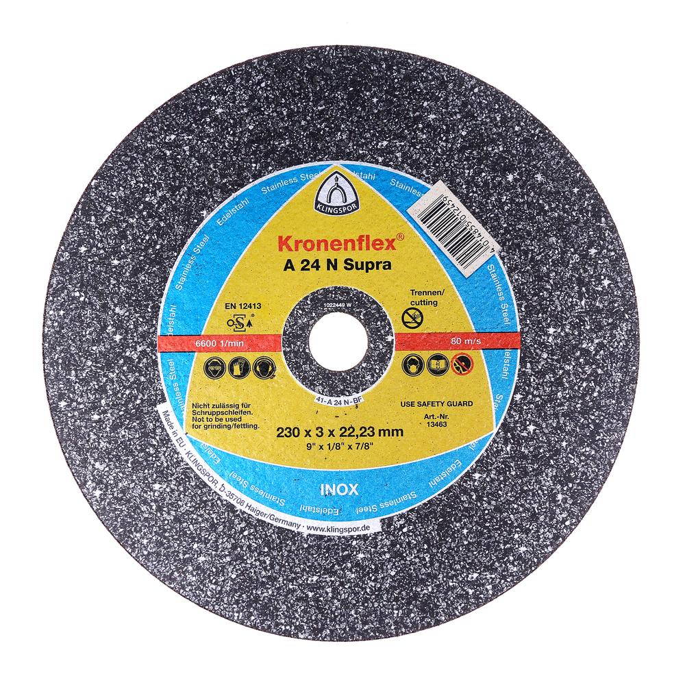 Disc Debitare In Aluminiu 230 X 3 X 22,23 mm