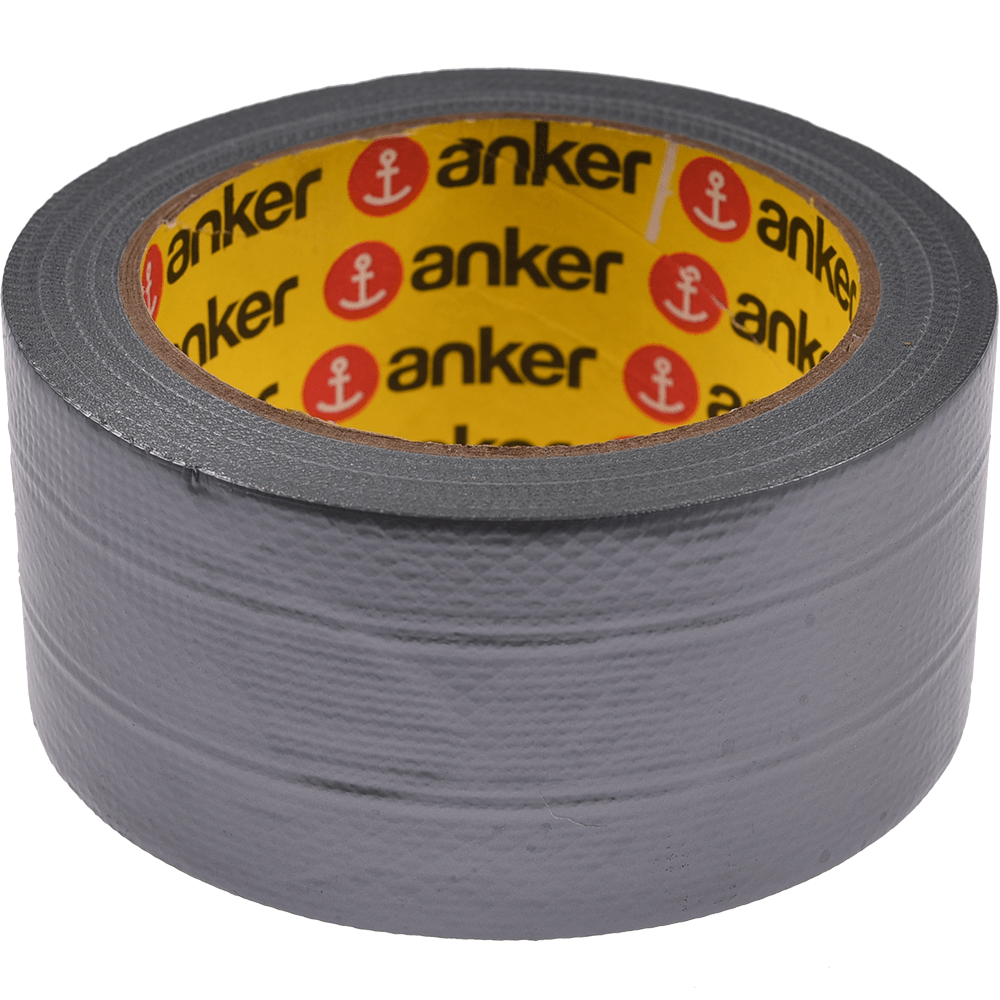 Banda adeziva duct pentru etansare Anker, gri, 50 mm, 50 m