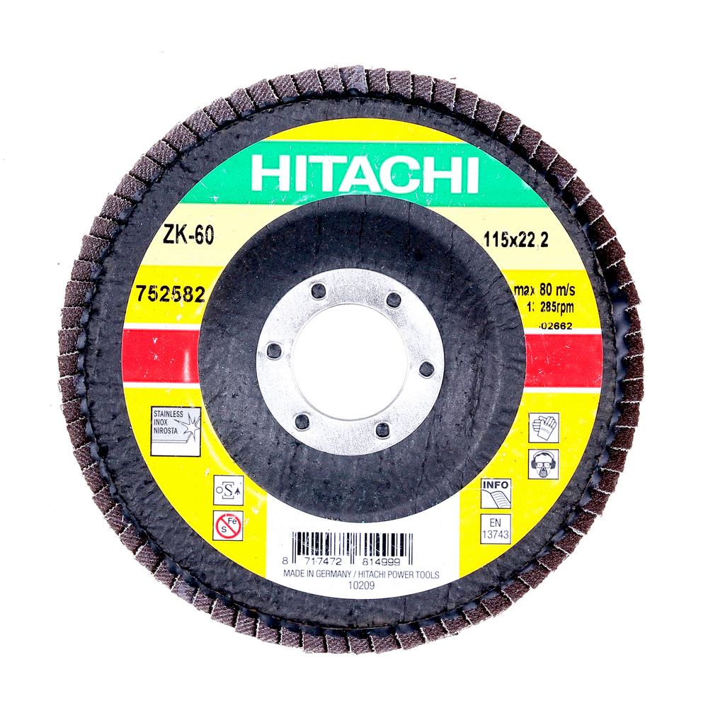 Disc Flapsuri Pentru Slefuit Hitachi 752582 115 X 22,2 X 9 mm mathaus 2021