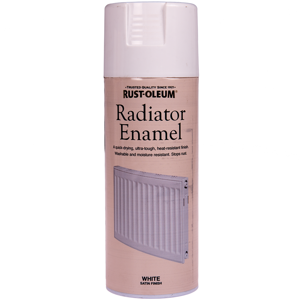 Spray radiator enamel alb satinat 400 ml