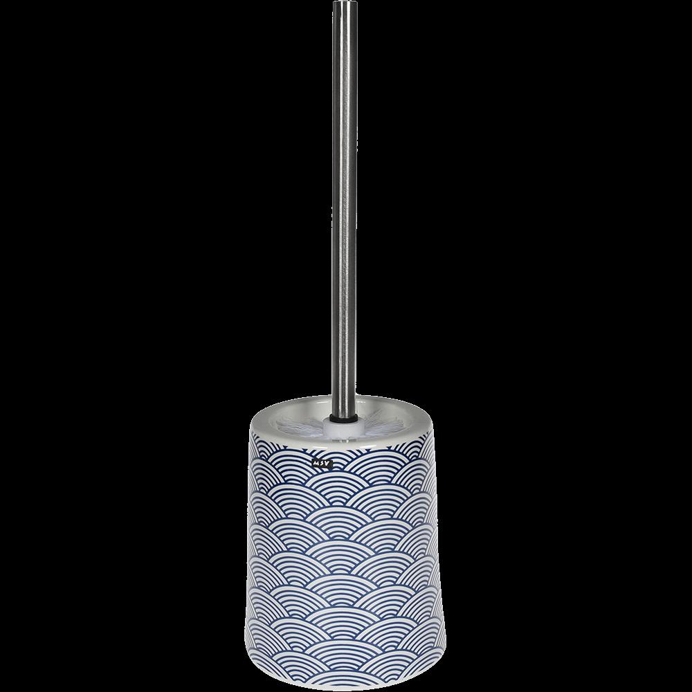 Perie WC Romtatay Bento, ceramica, bleu, 12.5 x 12.5 x 41.5 cm imagine 2021 mathaus