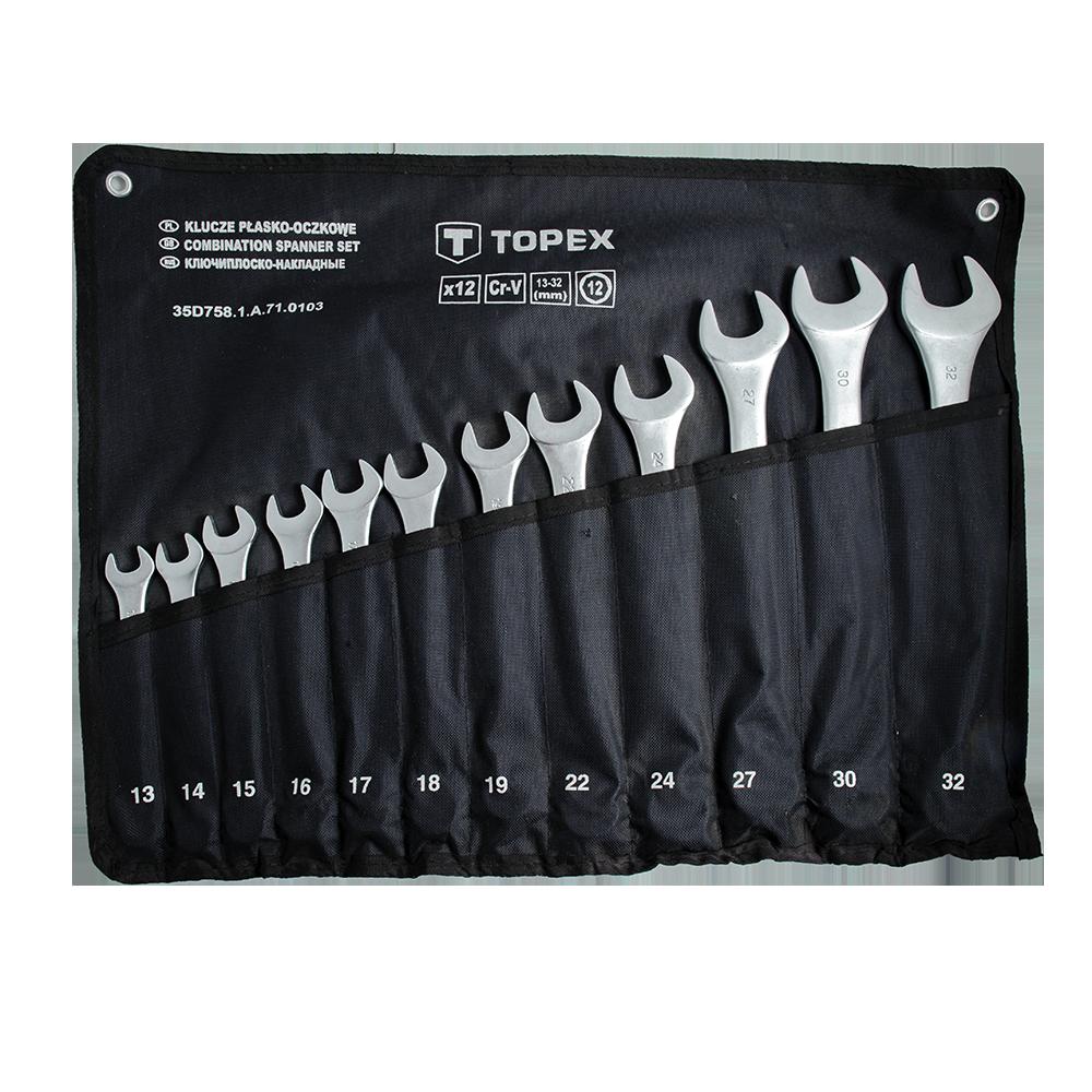 Chei Combinate Fixe-Inelare Topex 13-32 mm imagine 2021 mathaus