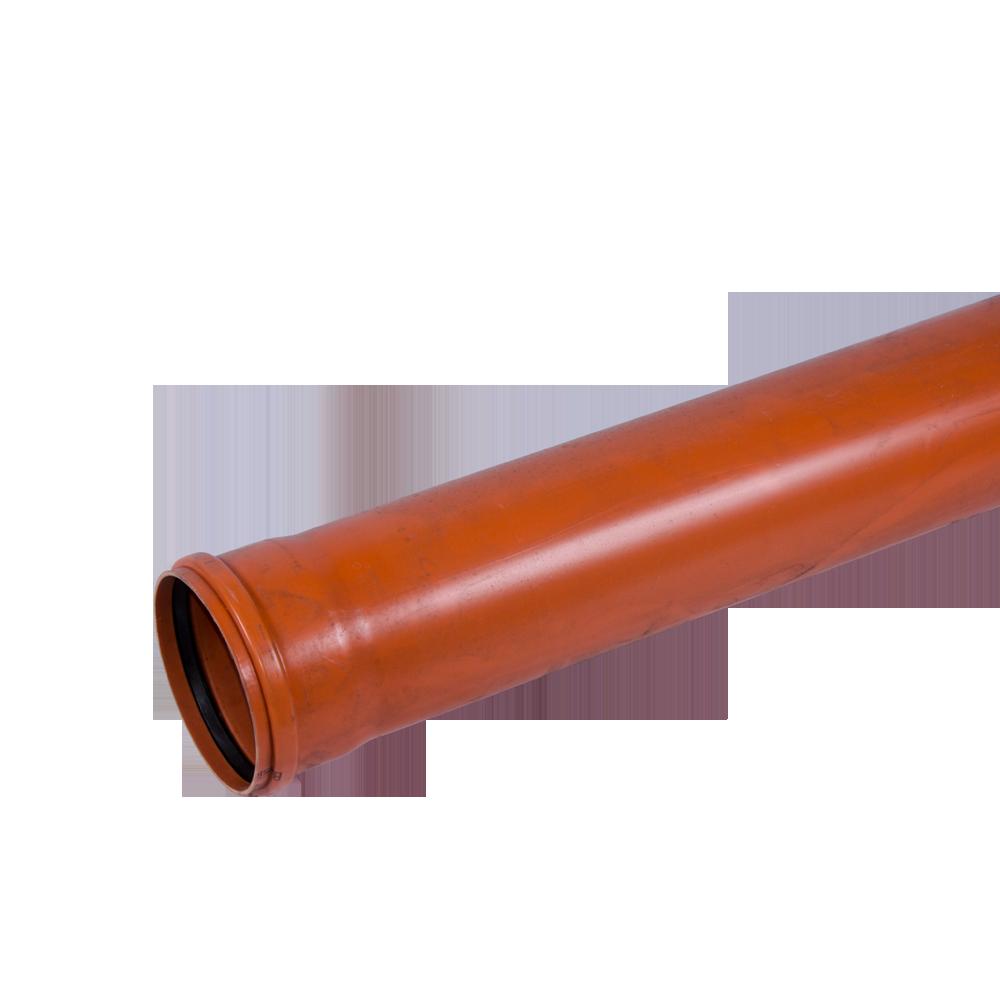 Conducta din PVC SN2 DN 160 mm x 2 m imagine 2021 mathaus