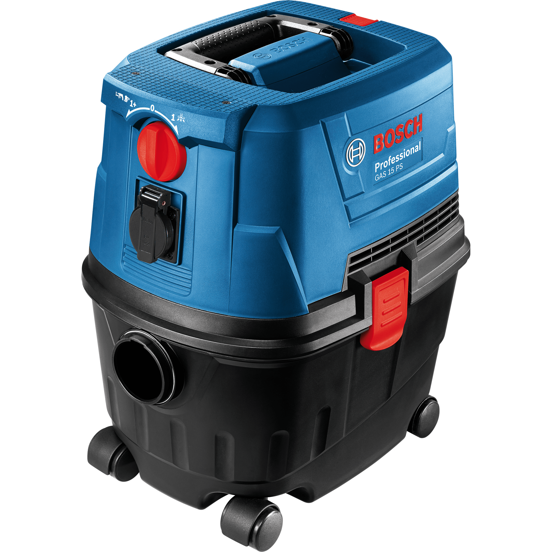 Aspirator universal Bosch GAS 15 PS Professional, 1100W, 10L, 360 x 440 mm, 3 m imagine 2021 mathaus