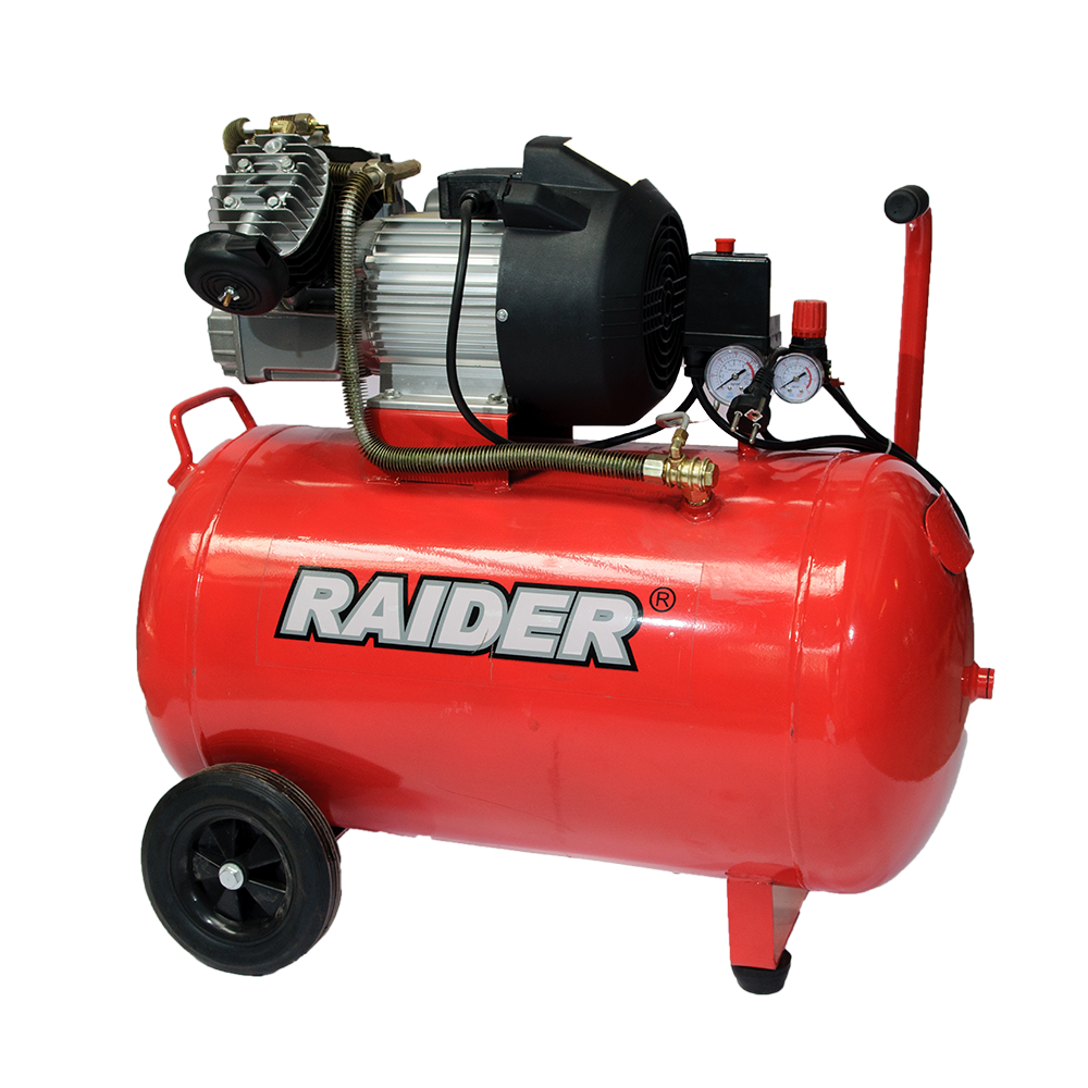 Compresor de aer Raider RD-AC03, 2200W, 2800 rpm, 8 bar imagine 2021 mathaus