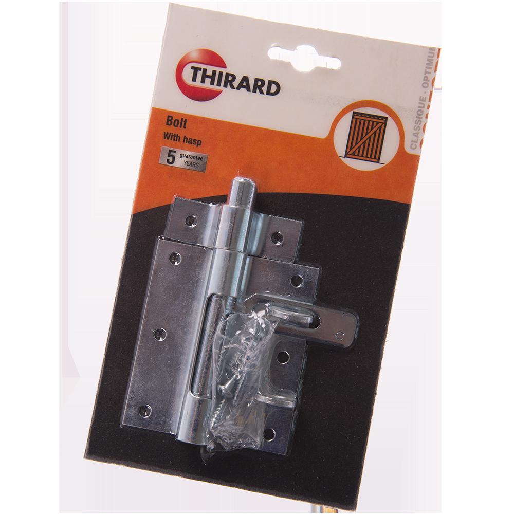 Zavor aplicat cu inel pentru lacat, otel zincat, D 12mm mathaus 2021