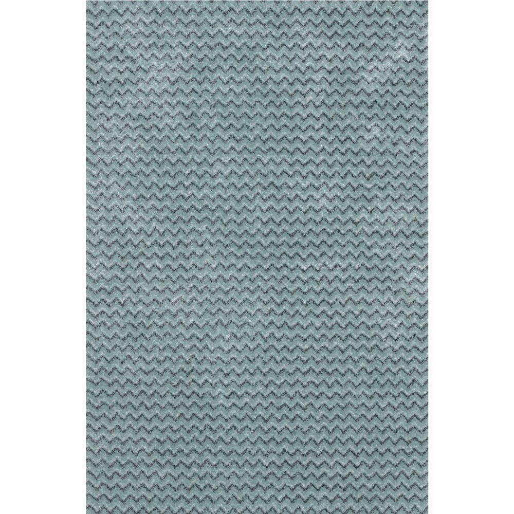 Covor modern Sintelon Stage 01 TMT, model elegant albastru-gri, polipropilena si poliester, 120 x 170 cm imagine MatHaus