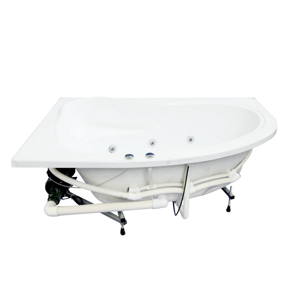 Cada baie Atena, acril sanitar, alb, 170 x 70 x 45 cm imagine 2021 mathaus