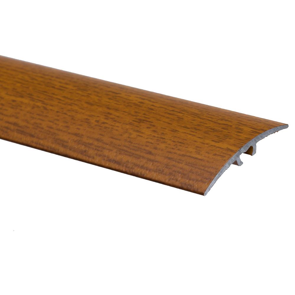 Profil de trecere cu surub mascat S64 fara diferenta de nivel Effector lemn exotic, 0,93 m imagine MatHaus.ro