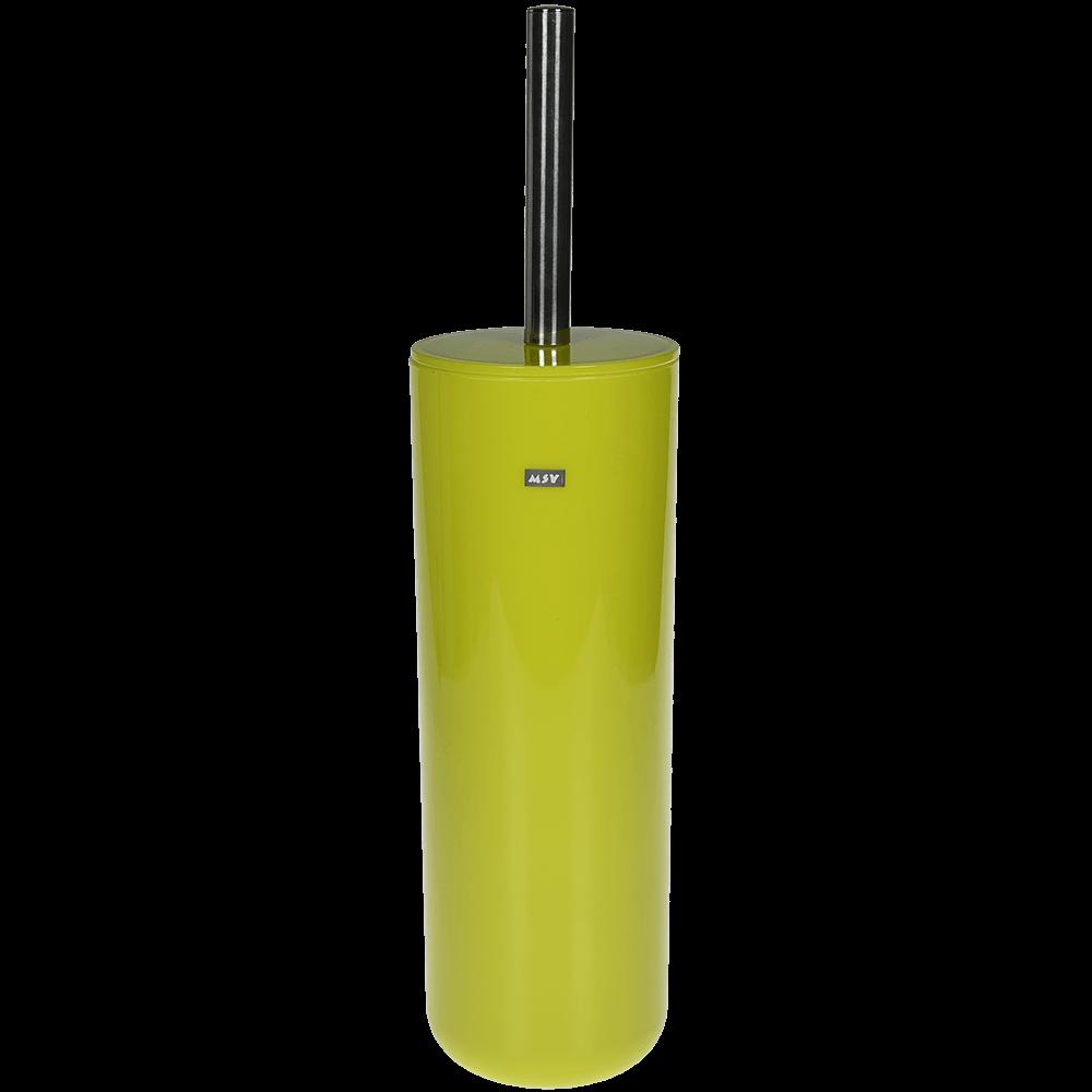 Perie WC Romtatay Inagua, plastic, verde, 9.3 x 35.5 cm imagine 2021 mathaus