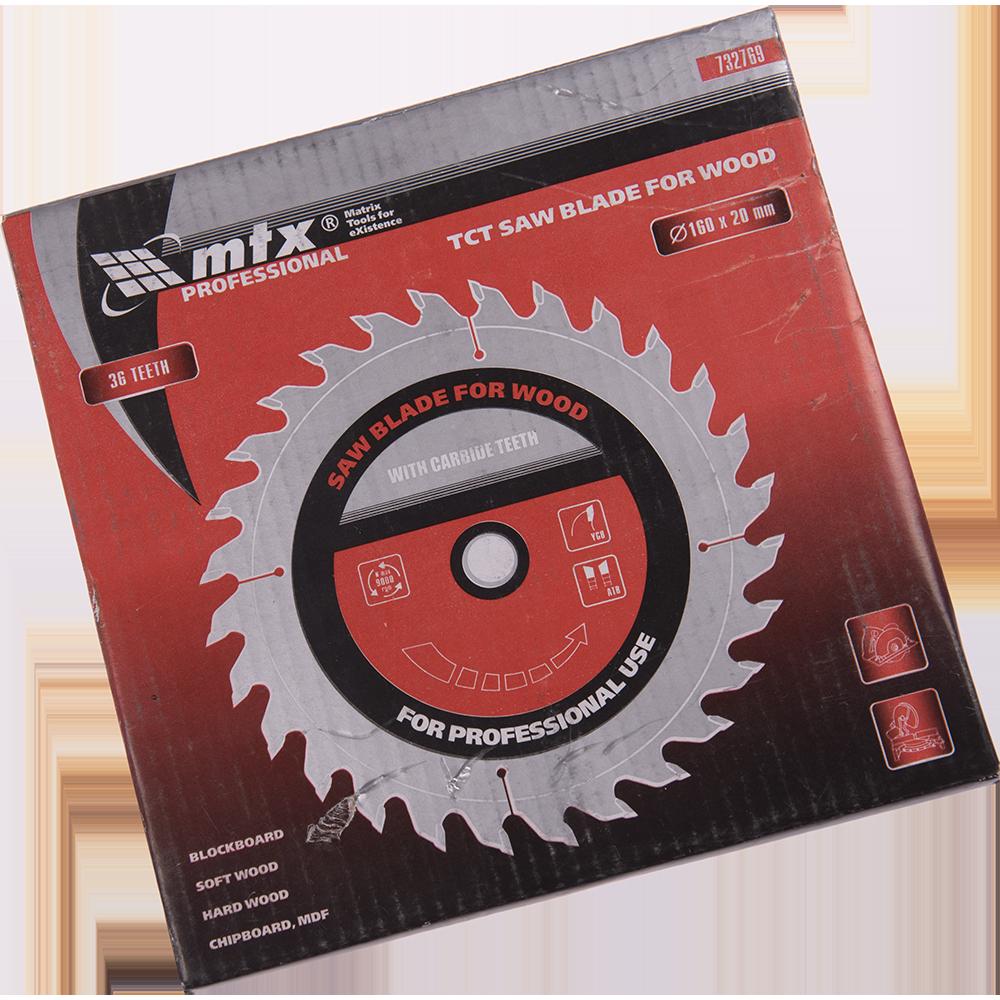 Disc Lemn 160 X 20 mm 36 Dinti Mtx Pro imagine 2021 mathaus