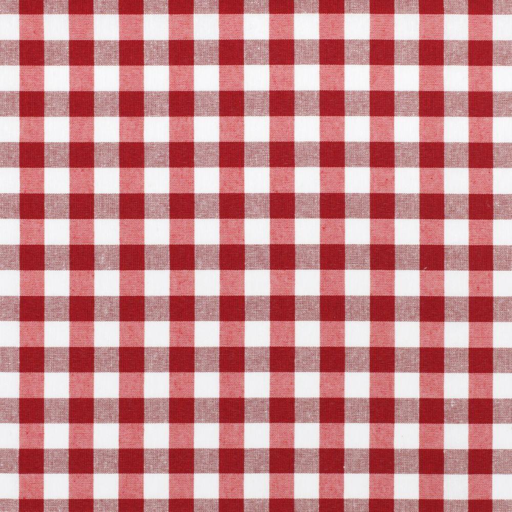 Fata de masa Kassel, model picnic, 100% bumbac impregnat, alb+rosu, 140 cm imagine 2021 mathaus