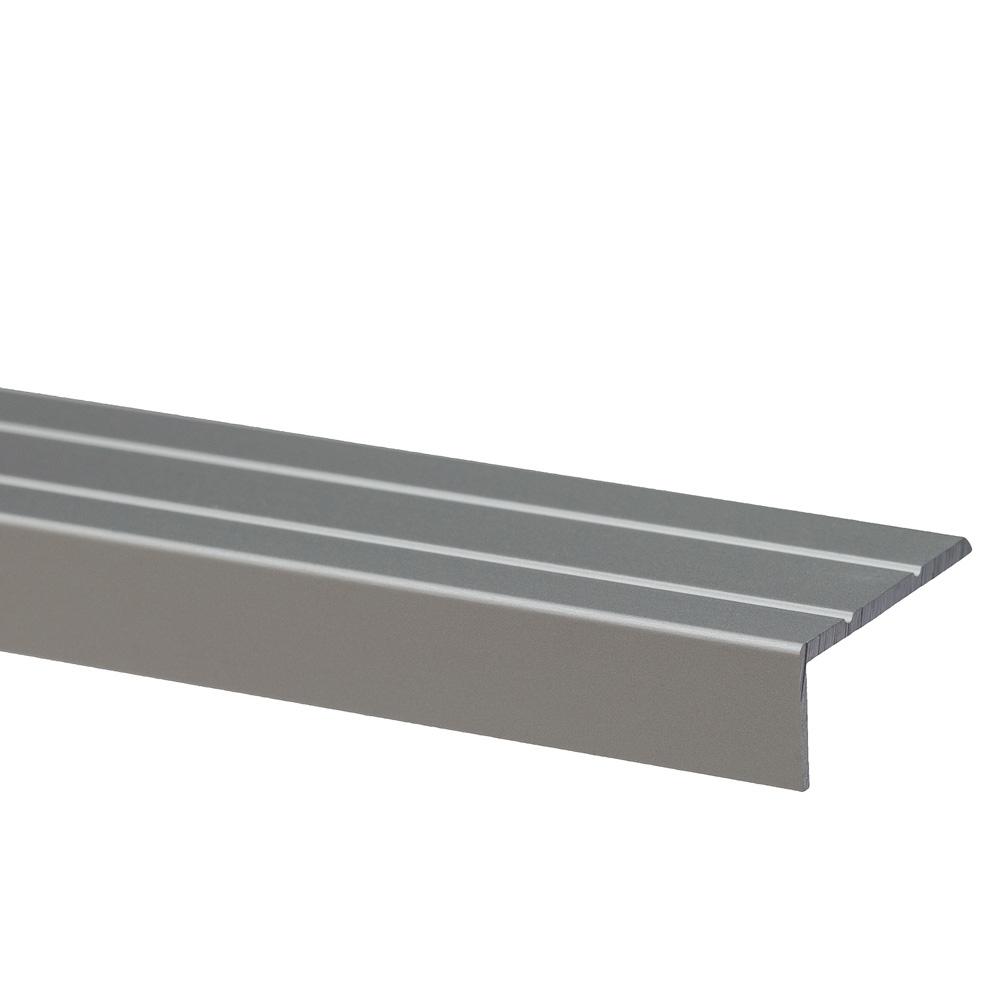 Profil pentru treapta cu surub S46, Set Prod, 25 mm, argintiu, 1 m imagine 2021 mathaus
