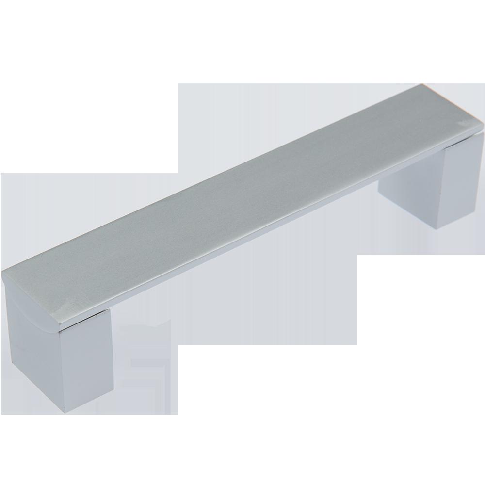 Maner AA330B (AA337B) 128 mm, aluminiu mat mathaus 2021