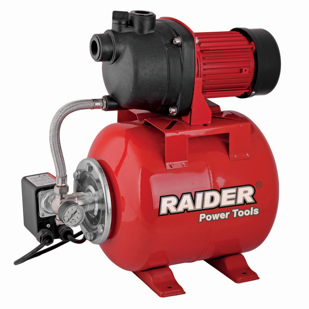 Hidrofor Raider Rd-Wp800, 800 W, 8 m, 24 l, 55 l/min