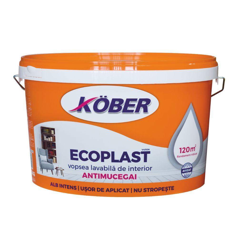 Vopsea Lavabila de Interior Ecoplast 8,5 L imagine 2021 mathaus