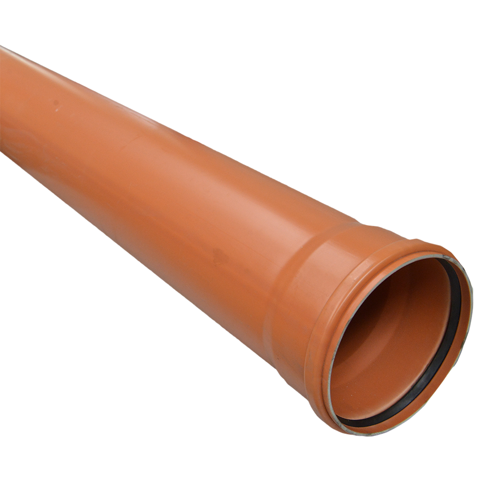 Conducta din PVC SN2 DN 160 mm x 4 m imagine 2021 mathaus