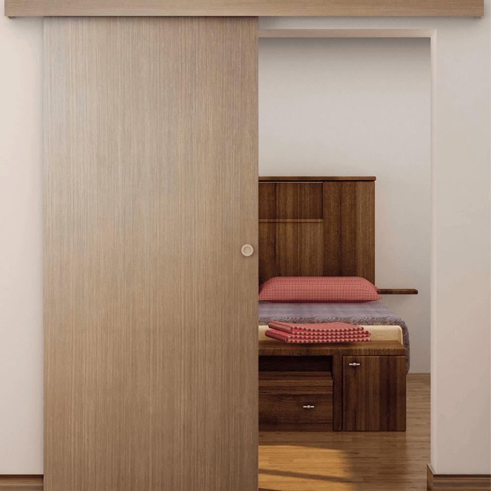 Usa culisanta interior M070, stejar auriu, 204 x 96 cm imagine MatHaus.ro